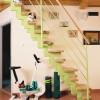 Helytakarékos lépcső